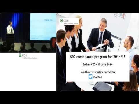 CTMN: GST - ATO Compliance Program for 2014/15 - 19 June 2014