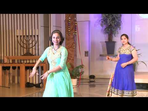 271 1175 01 : Netherlands Tamil Sangam Inaguration : Darling dambakku Ladies group dance