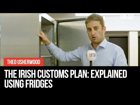 Irish Customs Plan Explained Using Fridges