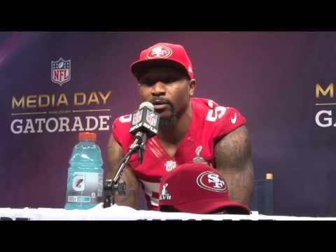 Super Bowl Media Day Interview - NaVorro Bowman