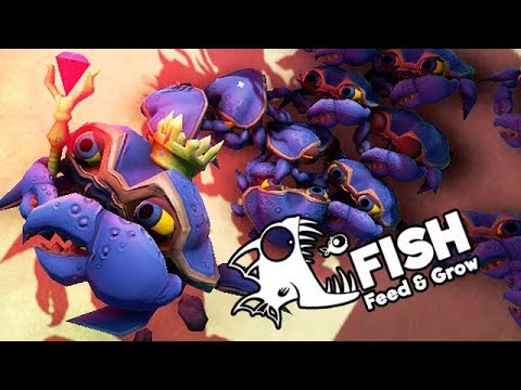 Feed and Grow Fish Gameplay German - King Crab und seine Armee
