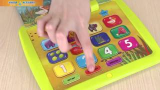 Книжка-планшетик «Малышок – Все о животных», Азбукварик