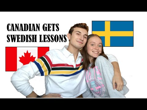 CANADIAN GETS SWEDISH LESSONS: FT(FELICIA)