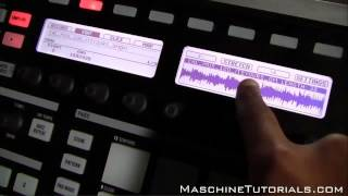 Maschine 1.8 Tutorial - Timestretch and Pitch Shift preview