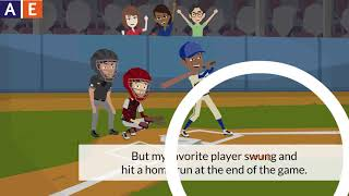 Irregular Verbs - Swing, Hit, Run