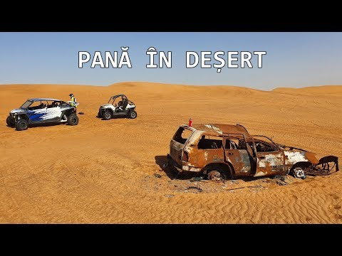 Cu Buggy pe Camp in Dubai – Pana in Desert! – 4K