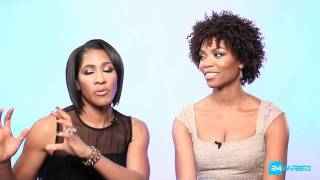 Terri J. Vaughn and Vanessa WIlliams Speak about Sugar Momma