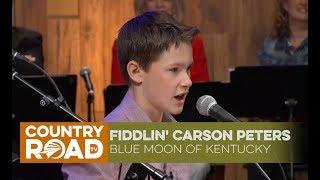"""Fiddlin' Carson Peters sings """"Blue Moon of Kentucky"""""""