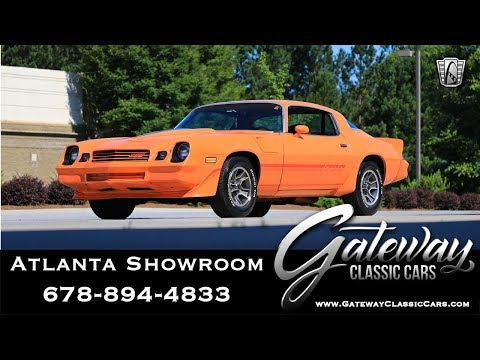 1980 Chevrolet Camaro Z-28 - Gateway Classic Cars of Atlanta #1161