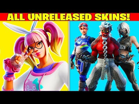 ALL UNRELEASED/LEAKED SKINS + ITEMS IN FORTNITE! (*NEW* LACE EDIT STYLE!)