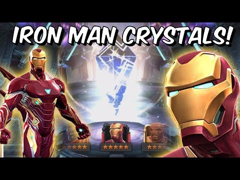 Infinity War Iron Man Grandmaster Featured Crystal Opening! - Marvel Contest Of Champions