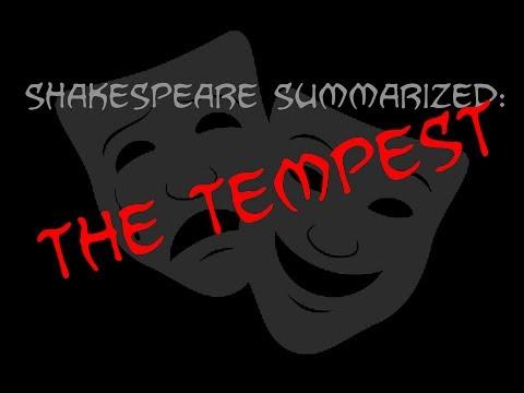Shakespeare Summarized: The Tempest