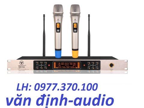 Micro VinaKTV S600X MAX , là míc đầu tiên sử dụng công nghệ cao, có ECHO, hát cực hay.