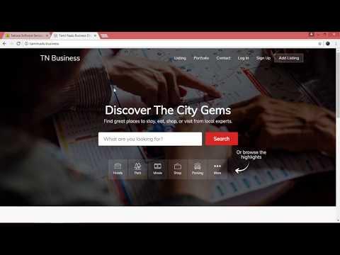 Free business listing on Tamilnadu Business