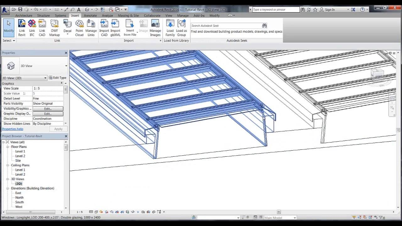 Revit Tutorial 03 For Velux Modular Skylights Youtube