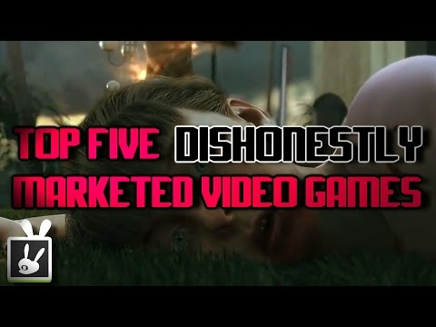Top Five Dishonestly Marketed Video Games