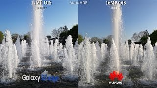 Samsung Galaxy S7 Edge vs Huawei Mate 8 - Camera Test Comparison Review!