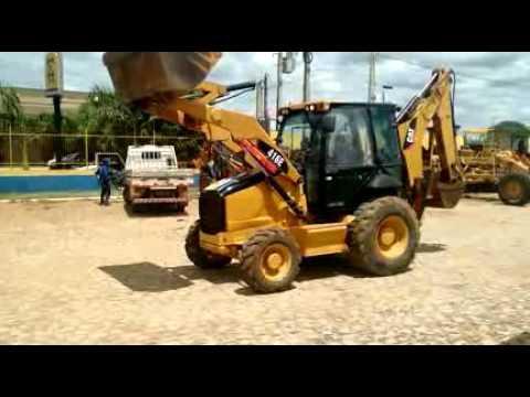 RETROESCAVADEIRA CATERPILLAR 416E FUNCIONANDO, ANO 2010, SÉRIE: 0416ECCBD06255 (Ref: 7)