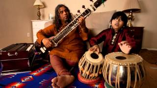 ustad Ghulam Farid Nizami with his son Faraz Nizami Allap raga parmeshvari