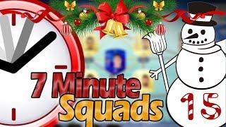 FAIL SBC LASAGNA 7 MINUTE SQUADS! - Adventskalender #15