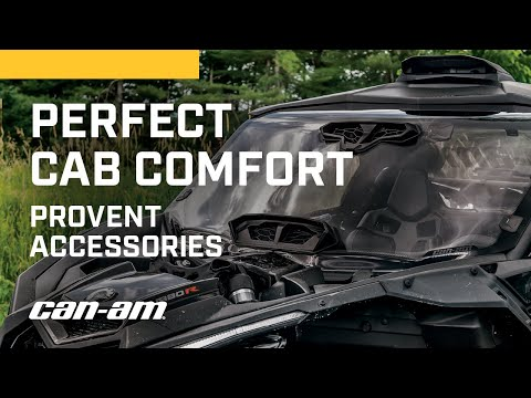 Why ProVent Accessories Deliver Perfect Cab Comfort