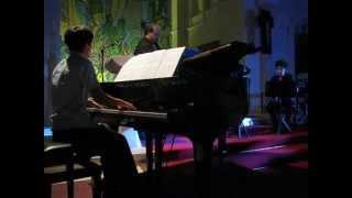 "Kvintet glazbenog kampa ""Skolion"" (Ljubo Stakić-klavir , Sandro Per..."
