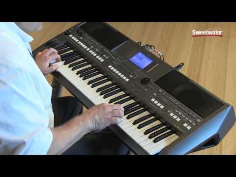 Yamaha PSR-S670 Arranger Keyboard Workstation Demo by Sweetwater