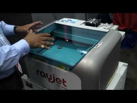 Trotec/ Rayjet laser system Demonstration by Mubarak and Warren ...