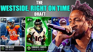 THE WESTSIDE, RIGHT ON TIME DRAFT! PLAYERS CLOSEST TO THE WEST COAST! Madden 19 Draft Champions