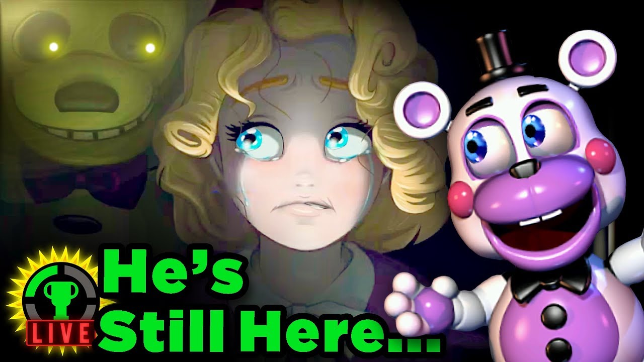 Secret Springtrap in FNAF 6 REVEALED! | Five Nights at Freddy's: Pizzeria Simulator (Part 3)