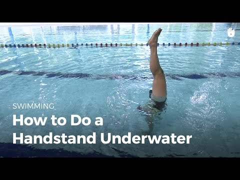 How To Do A Handstand | Fear Of Water