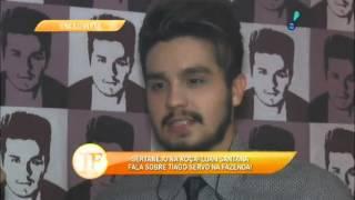 Luan Santana comenta participação de Thiago Servo no reality A Fazenda