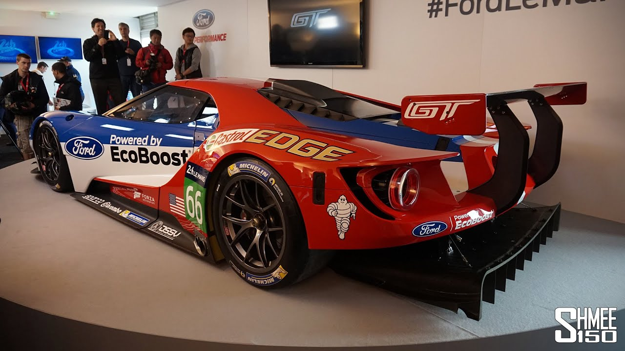 First Look Ford Gt  Le Mans Race Car Official Introduction Youtube