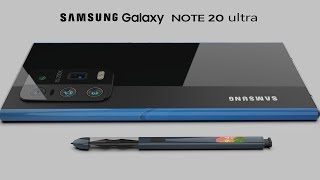 Samsung Galaxy Note 20 ultra 2020 trailer concept design official introduction |