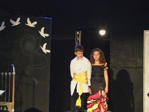Любовь, как в сказке. Отрывки из спектакля. Сцены с участием детей.
