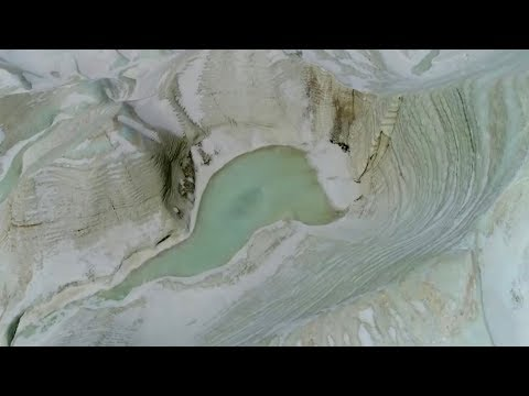 Aerial video: Spectacular glacier sceneries across Geladaindong Peak, source of the Yangtze