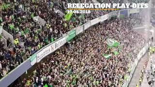 Wolfsburg-holstein bundesliga relegation play-offs