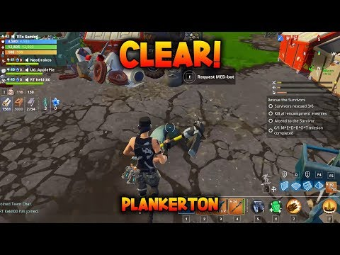 CLEAR! - Complete MEDBOT in successful missions - Fortnite Save the World