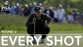 <b>Jordan Spieth</b> | Every Shot from His 2nd-Round 66 at the 2019 PGA ...