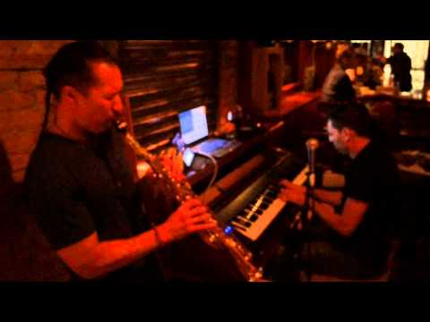 Autumn Leaves cover by Walter Curella on Piano and Joel Cruz on Sax    Cellar58 NYC