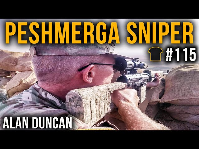 Killing ISIS | Peshmerga Sniper Alan Duncan | Chris Thrall's Bought The T-Shirt Podcast #115