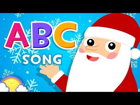 Christmas Alphabet ABCs!   English Alphabet Phonics Song for Kids   CheeriToons