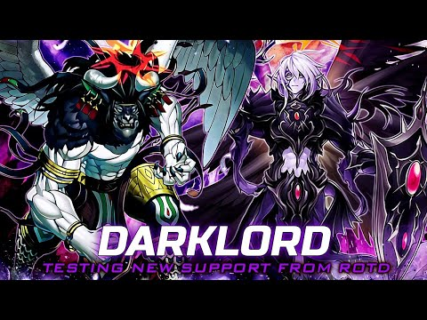 Deck Darklord Testing New Support Master Rule 2020