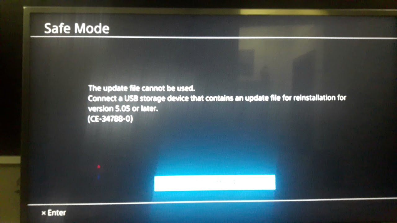 SOLVED!!!!!!! PS4 ERROR CODE CE-34788-0 FIXED PART 1 OF 3 - YouTube