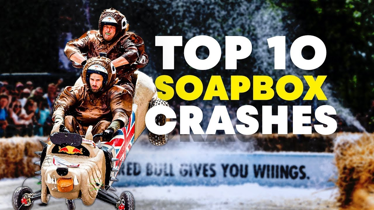 Top 10 London Soapbox Crashes | Red Bull Soapbox Race