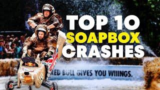 Top 10 London Soapbox Crashes   Red Bull Soapbox Race