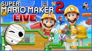 Traydens & Jomas Level komplett zerstören! 😆 🔴 Super Mario Maker 2 // Livestream