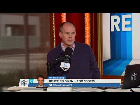 FOX Sports College Football Analyst Bruce Feldman on Title Game Preview & Predictions - 1/9/17