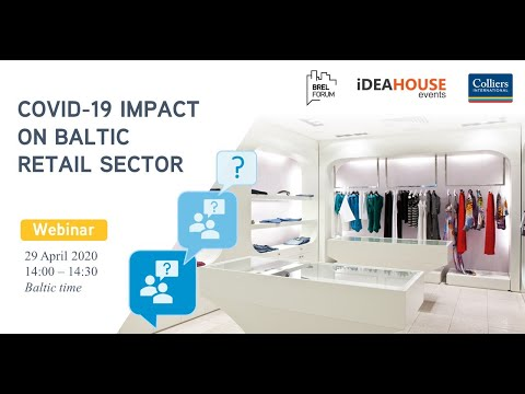 "Webinar ""Covid-19 impact on Baltic retail sector"""