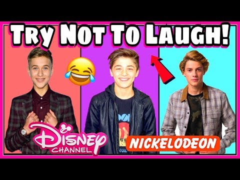 Thumbnail: Try Not To Laugh Challenge Nickelodeon & Disney Boys Edition | Funniest Musical.ly 2017
